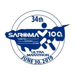 サロマ湖'19 ロゴ